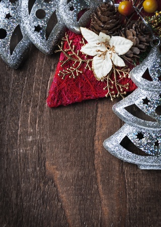 copy space: Christmas decoration