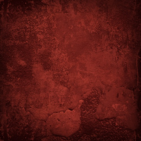 Grunge red wall texture Banco de Imagens - 11575965