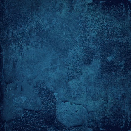 Grunge blue wall texture Stock Photo - 11843272