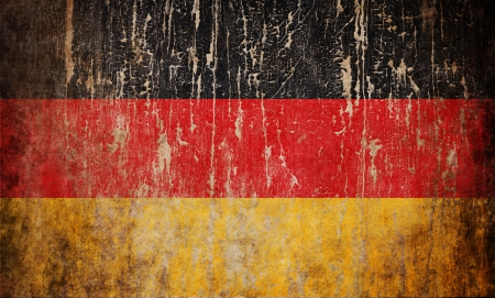 Grange textured flag of Germany photo