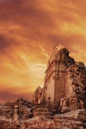monasteri: Antica città di Petra, in Giordania