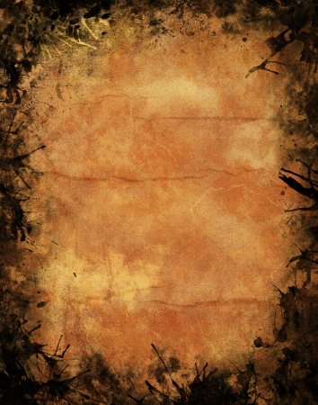 Grunge textured background for halloween poster photo