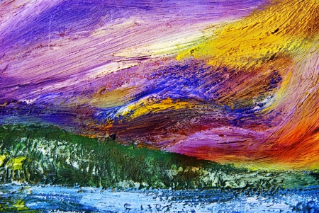 oil paintings: Oil painting texture. Abstract background.