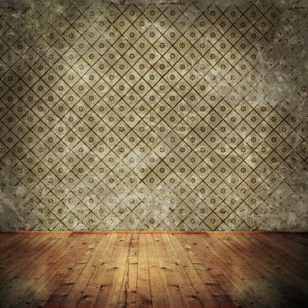Empty space in vintage room Stock Photo - 19289468