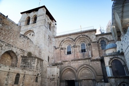 Church of the Holy Sepulchre in Old city of Jerusalem, Israel Stock Photo - 21971167