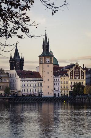 vltava: Prague, view from Vltava river