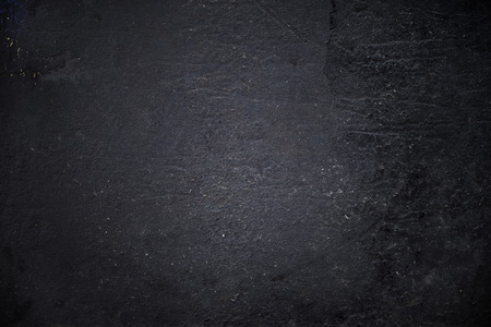Grungy black textured metal background Stock Photo