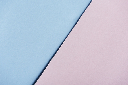 Abstract pastel geometry creative light pink and blue.