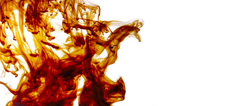 Color liquid motion in water.