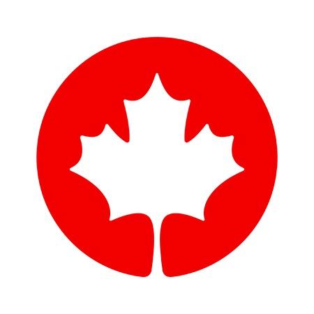 Kanada Ahorn-Symbol Standard-Bild - 28120394