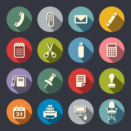 icone office: Bureau jeu d'ic�nes