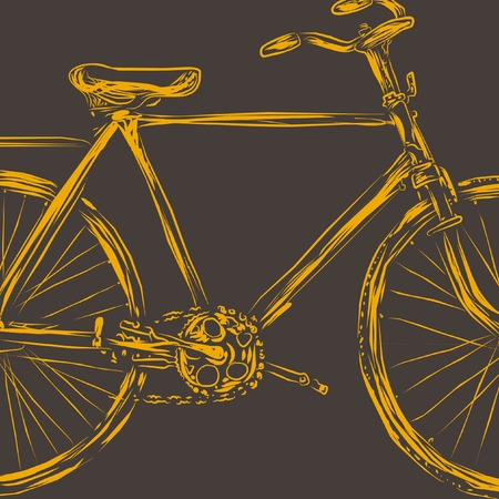 lets: bicycle illustration