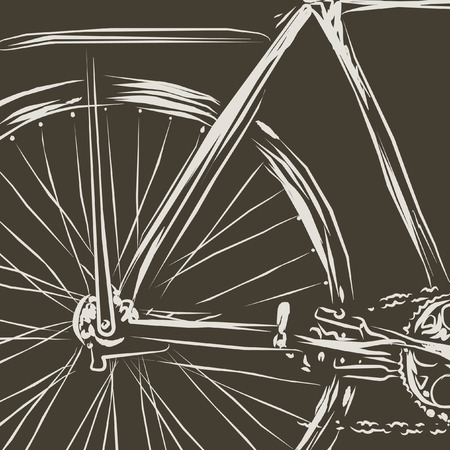 bicycle vector illustration Vector