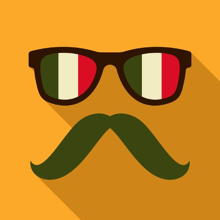 mexican glasses icon Vector