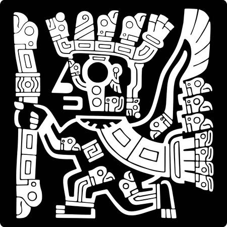 インカのアイコン  イラスト・ベクター素材