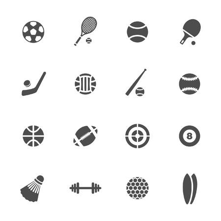 raqueta de tenis: Sistema del icono del deporte