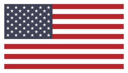 united nations: bandera americana Vectores