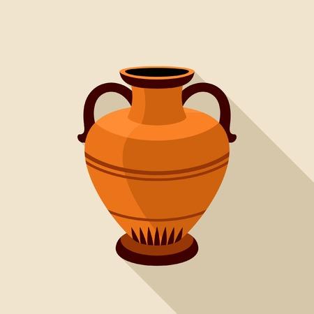 greek pot: Icona anfore greco
