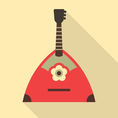 balalaika: Balalaika vector icon. Russian music instrument Illustration