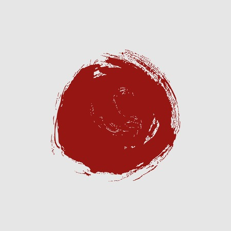 Abstract symbol of Japan