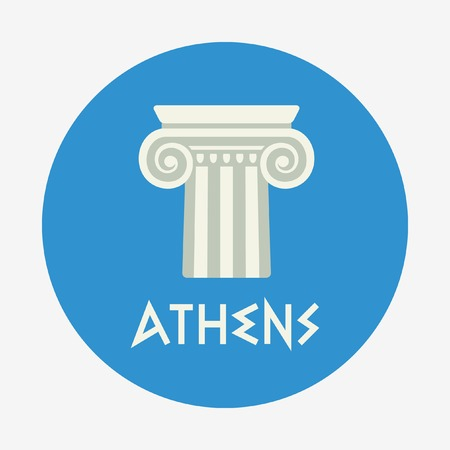 athens: Athens icon Illustration