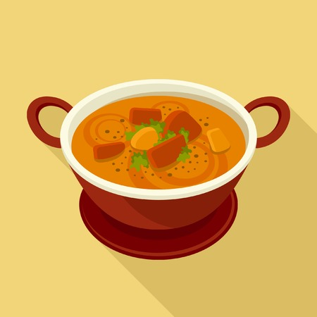 Curry icon Stock Vector - 39840477
