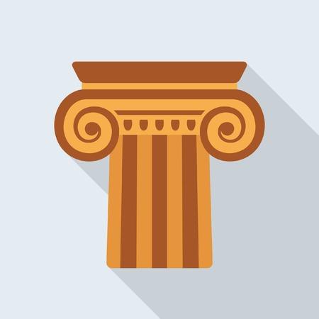 column: Antique column icon