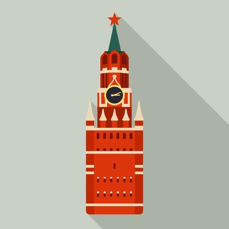 kremlin: Kremlin Russia. Vector icon