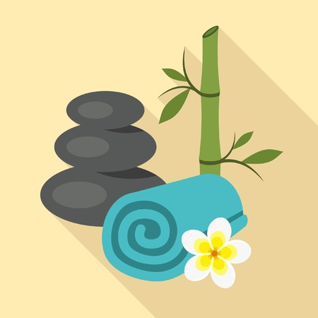 flower bath: Spa emblems