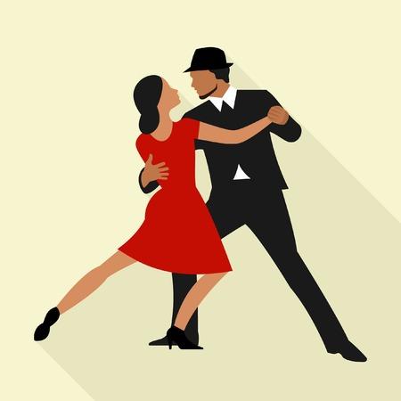 latin dancing: Tango