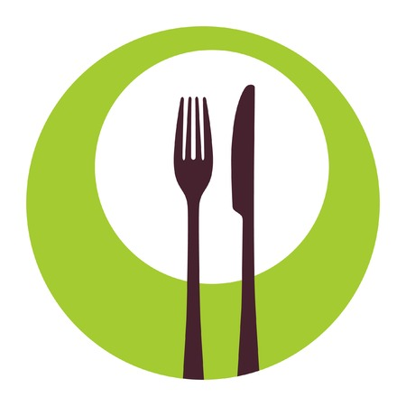 place setting: Fork and knife icon