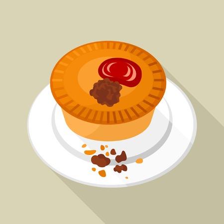 pie: Meat pie