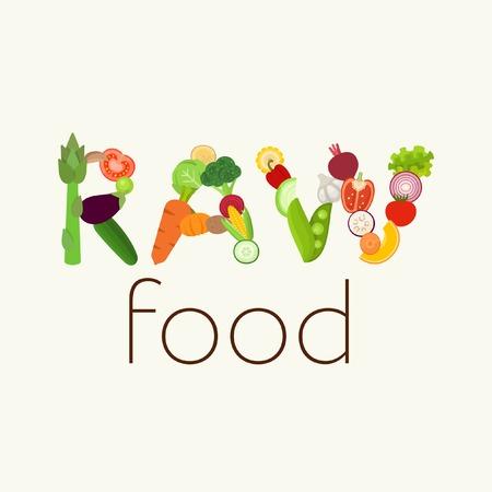 raw potato: Raw Food vector illustration Illustration