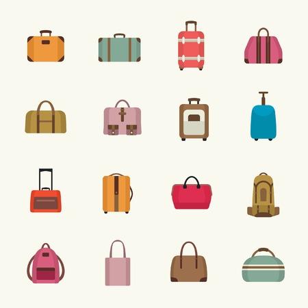 a bag: Bags icon set