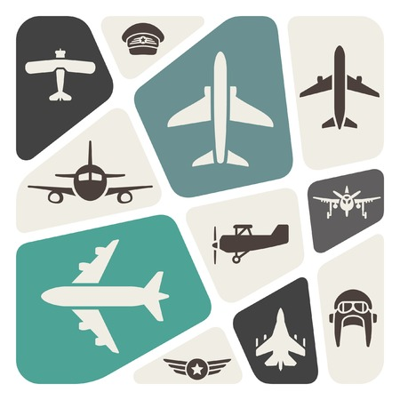 pilot wings: aviation background