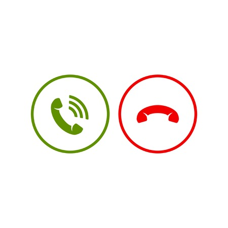 Phone call icons Vector