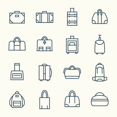 category: Bags line icons