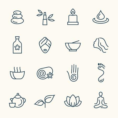 masajes relajacion: iconos de spa