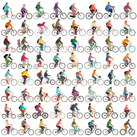 Vector Cyclists large set