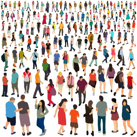 People. Vector illustration.