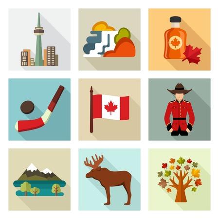 niagara falls city: canada icons