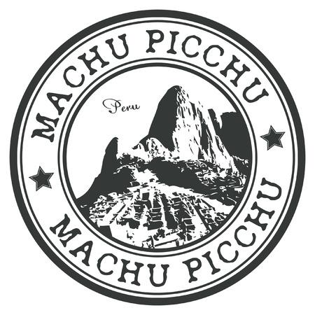 machu: Machu Picchu stamp