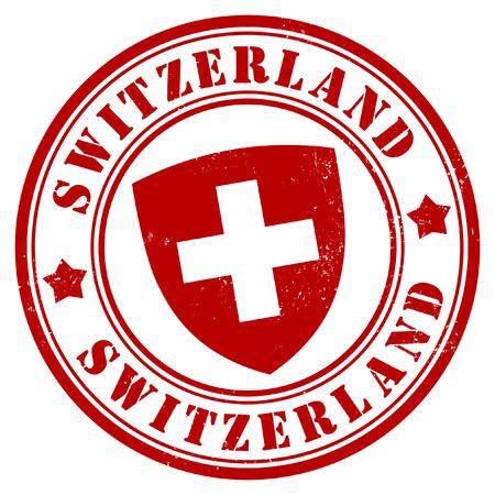 スイス連邦共和国のスタンプ