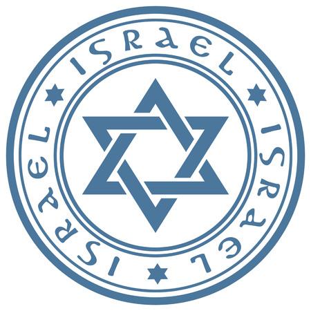 zionism: Blue stamp Israel