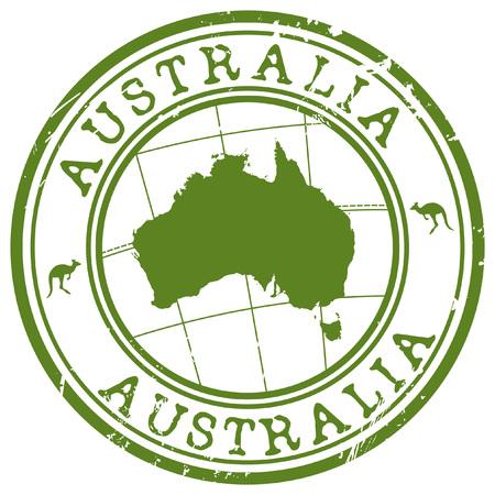 Australien Stempel