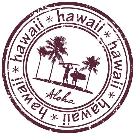ハワイ スタンプ