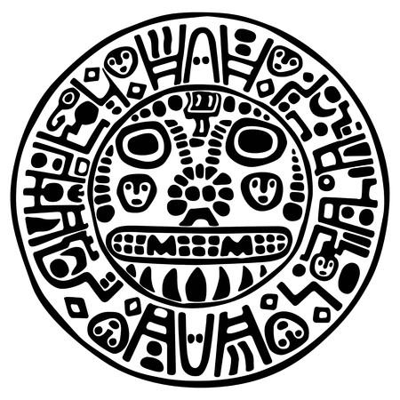 indios americanos: icono de Inca