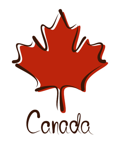 toronto: Maple Leaf - Symbol of Canada Illustration