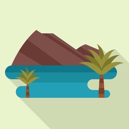 mountainous: Mountainous sea landscape