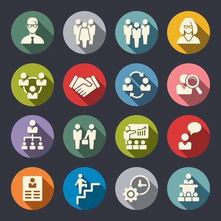 management icons Ilustração